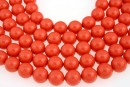 Swarovski pearls, coral, 16mm - x1