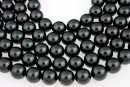 Swarovski pearls, black, 16mm - x1