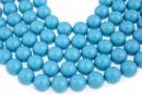 Swarovski pearls, turquoise, 16mm - x1