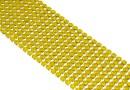 Swarovski, crystal mesh, yellow opal, 20x3.2cm - x1