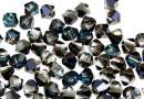 Swarovski, bicone bead, bermuda blue, 6mm - x10