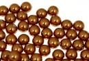 Swarovski one hole pearls, copper, 6mm - x4