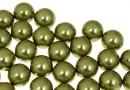 Swarovski one hole pearls, light green, 4mm - x4