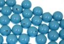 Swarovski one hole pearls, turquoise, 6mm - x4