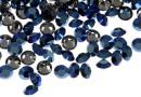 Swarovski, chaton pp21, metallic blue, 2.8mm - x20