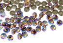 Swarovski, chaton pp10, light col. topaz shimmer, 1.6mm - x20