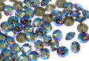 Swarovski, chaton pp14, black diamond shimmer, 2mm - x20