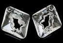 Swarovski, growing pendant, crystal, 36mm - x1