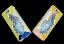 Swarovski, growing pendant, aurore boreale, 26mm - x1
