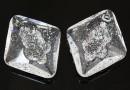 Swarovski, growing pendant, crystal, 26mm - x1