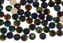 Swarovski, hotfix, ss10, rainbow dark, 2.7mm - x20