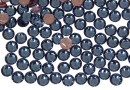 Swarovski, hotfix, ss12, denim blue, 3mm - x20