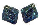 Swarovski, growing pendant, bermuda blue, 26mm - x1