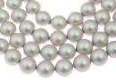 Swarovski pearl, iridescent dove grey, 6mm - x100