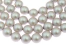 Swarovski pearl, iridescent dove grey, 12mm - x10
