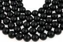 Swarovski pearl, black, 3mm - x100