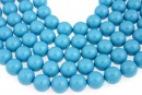 Swarovski pearl, turquoise, 3mm - x100