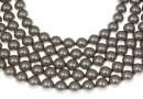Swarovski pearl, platinum, 3mm - x100