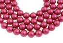 Swarovski pearl, mulberry pink, 6mm - x100