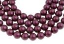 Swarovski pearl, elderberry, 5mm - x100