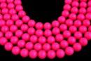 Swarovski pearls, neon pink, 16mm - x1