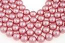 Swarovski pearls, powder rose, 16mm - x1