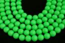 Swarovski pearls, neon green, 14mm - x2