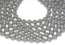 Swarovski pearls, pastel grey, 14mm - x2