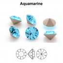 Preciosa chaton, aquamarine, 8mm - x2
